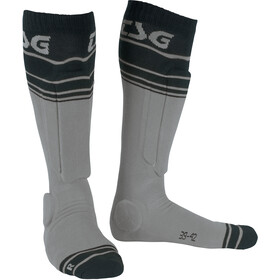 TSG Riot Chaussettes, grey-striped